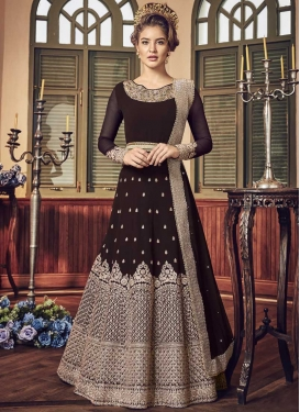 Floor Length Anarkali Salwar Suit For Ceremonial
