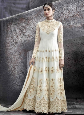 Floor Length Anarkali Salwar Suit For Festival