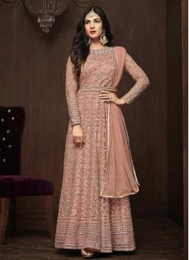Floor Length Anarkali Salwar Suit For Festival