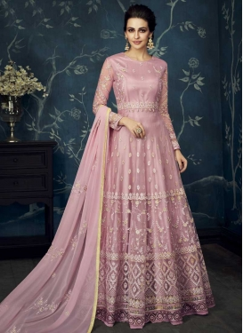Floor Length Anarkali Suit