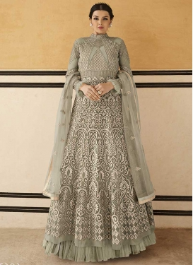 Floor Length Designer Salwar Suit For Festival