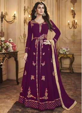 Floor Length Designer Salwar Suit For Party