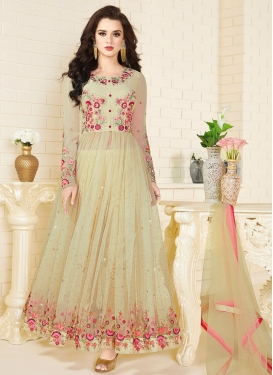 Floor Length Designer Suit For Festival