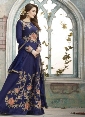Floor Length Salwar Kameez For Festival