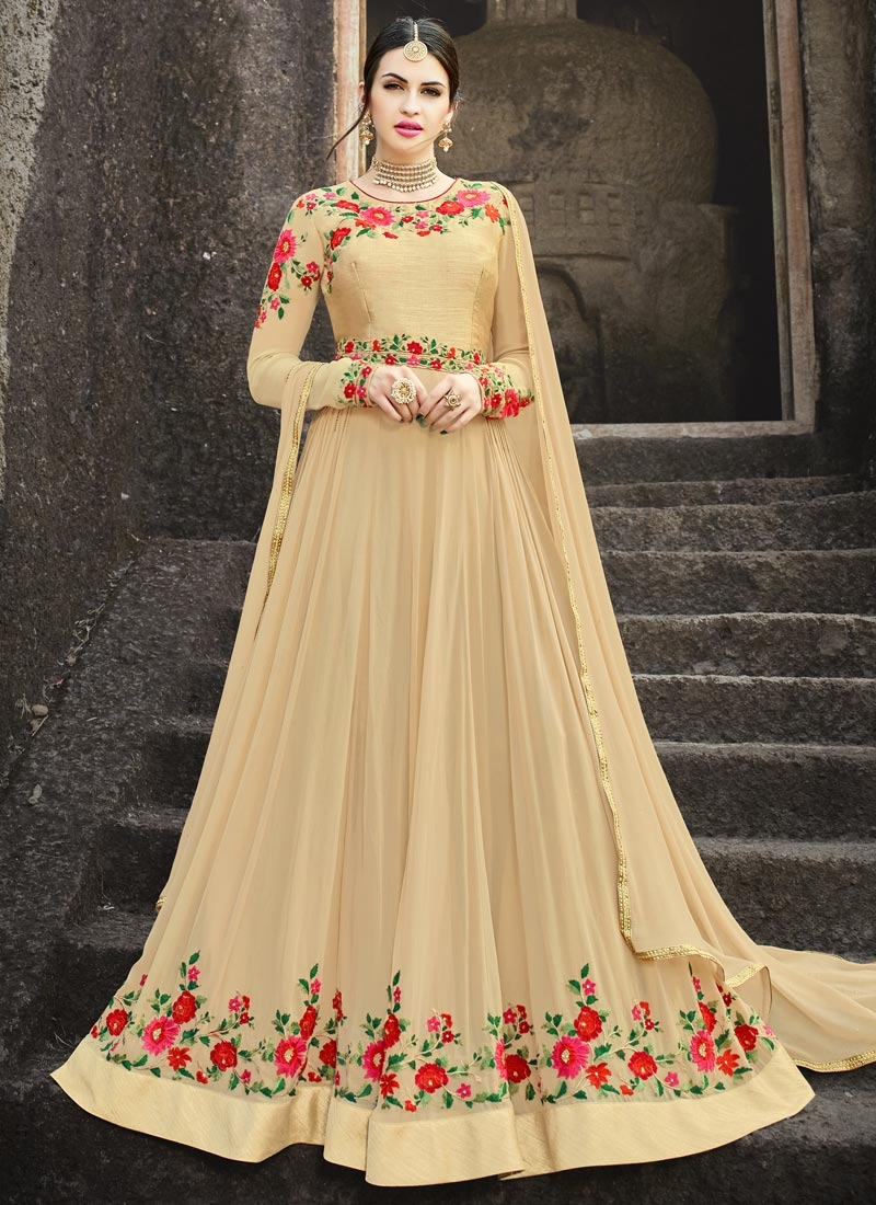 Floor Length Churidar