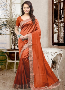 Floral  Trendy Classic Saree For Ceremonial