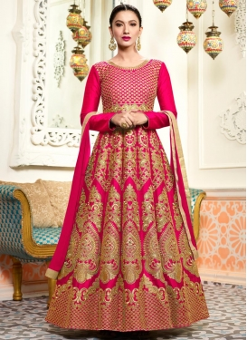 Gauhar Khan Anarkali Salwar Kameez For Ceremonial