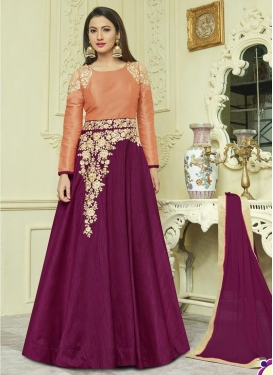 Gauhar Khan Banglori Silk Trendy Designer Salwar Kameez