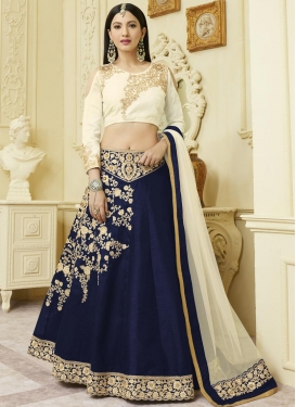 Gauhar Khan Embroidered Work Designer Lehenga Choli