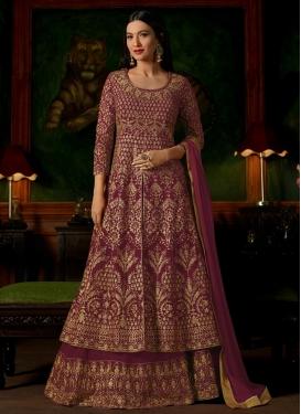 Gauhar Khan Faux Georgette Designer Kameez Style Lehenga Choli
