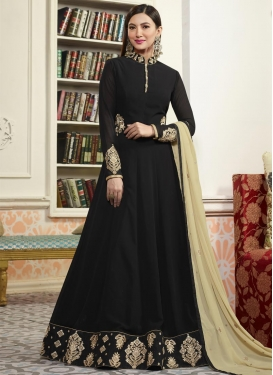 Gauhar Khan Floor Length Anarkali Salwar Suit