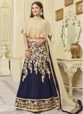 Gauhar Khan Trendy Designer Lehenga Choli For Ceremonial