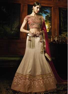 Girlish A - Line Lehenga For Party