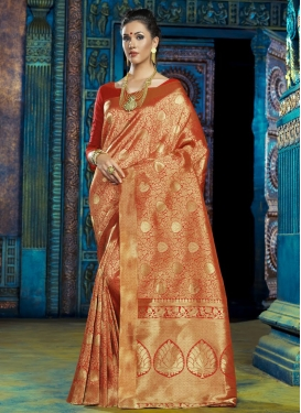 Glamorous Art Silk Contemporary Saree