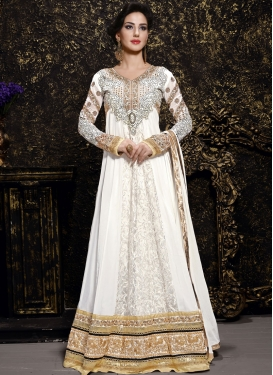 Glorious Brasso Long Length Anarkali Suit