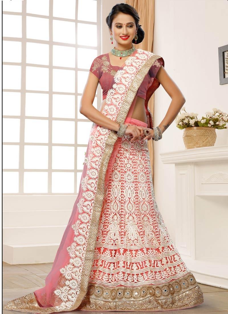 Glorious Embroidery Work Bridal Lehenga Choli