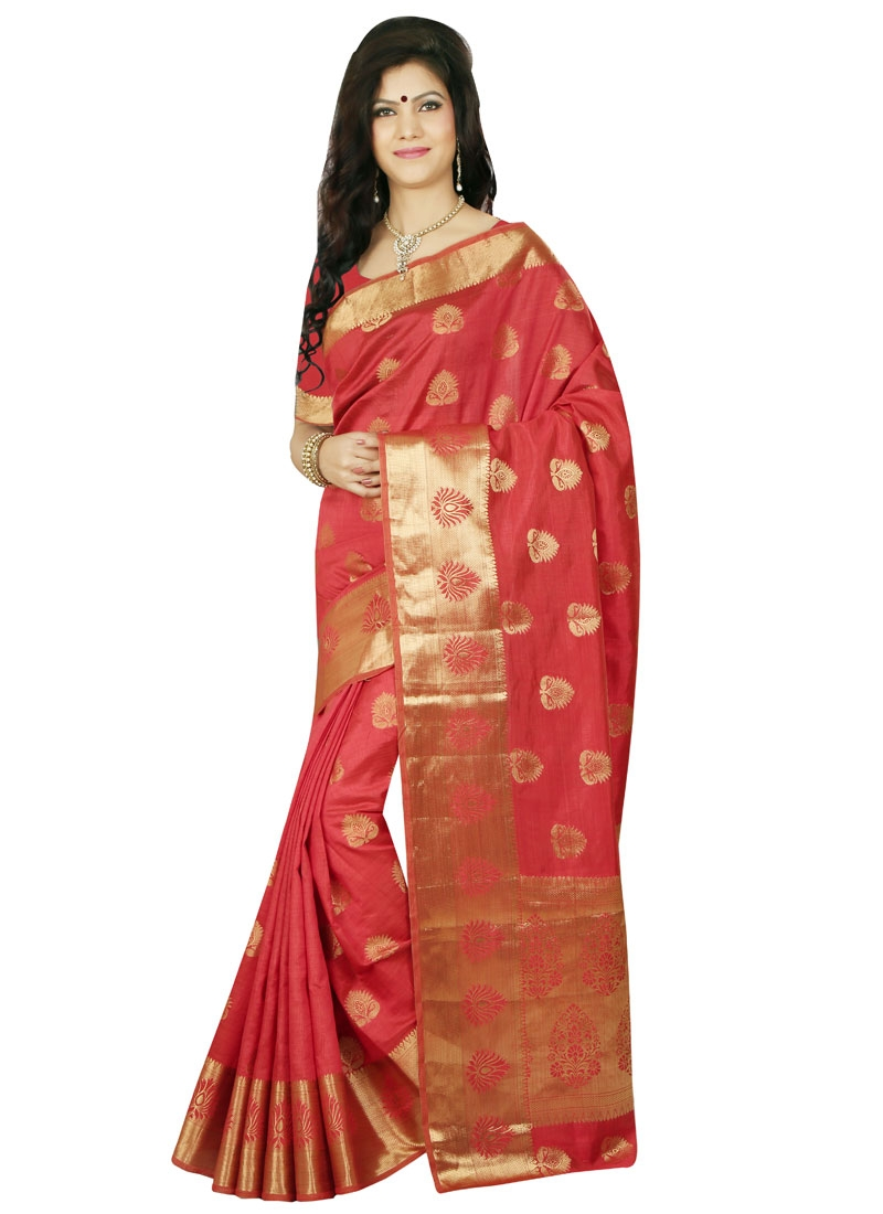 Glorious Resham Work  Party Wear Saree