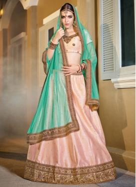 Graceful  Lace Work Trendy Designer Lehenga Choli