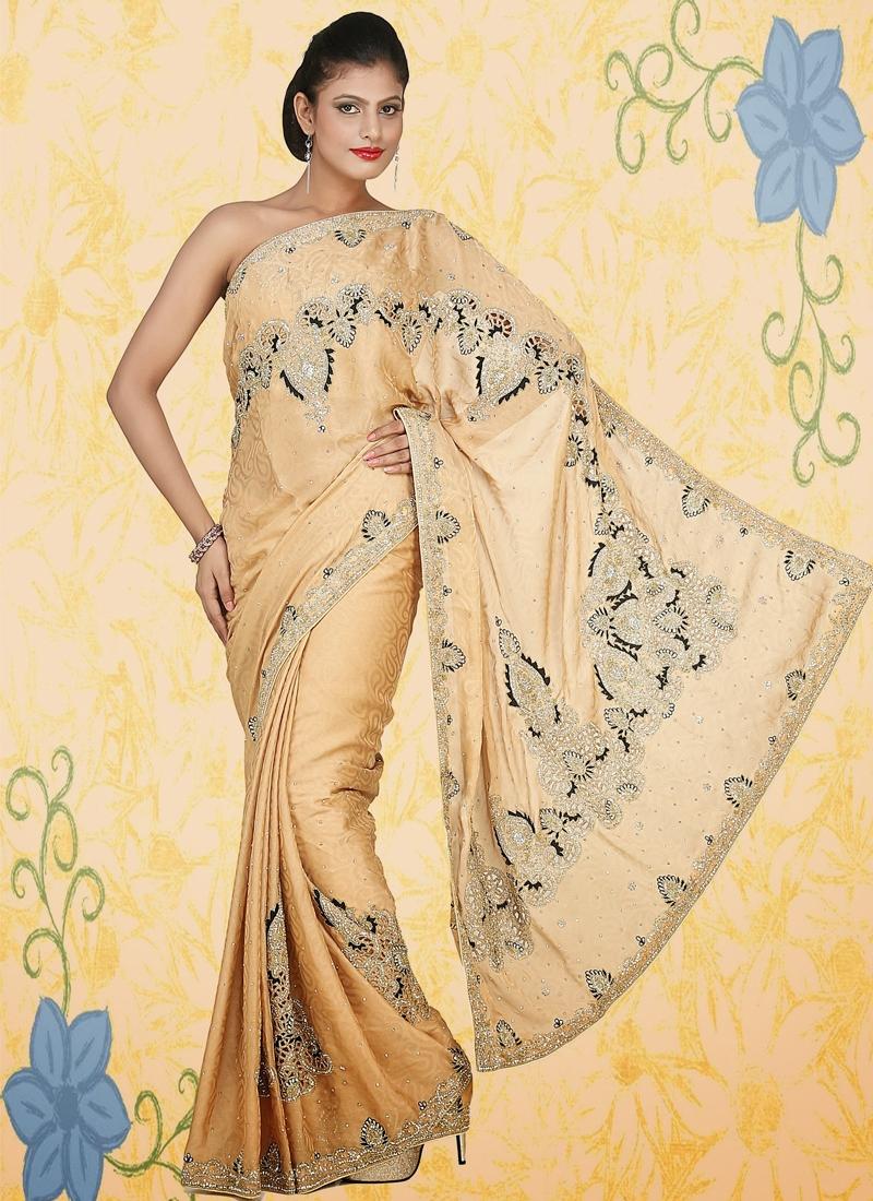 Grandiose Stone Enhanced Party Wear Saree