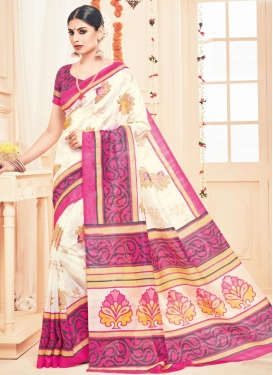 Gratifying Art Silk Trendy Classic Saree