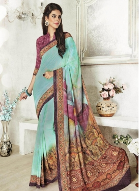 Gratifying Classic Saree For Ceremonial