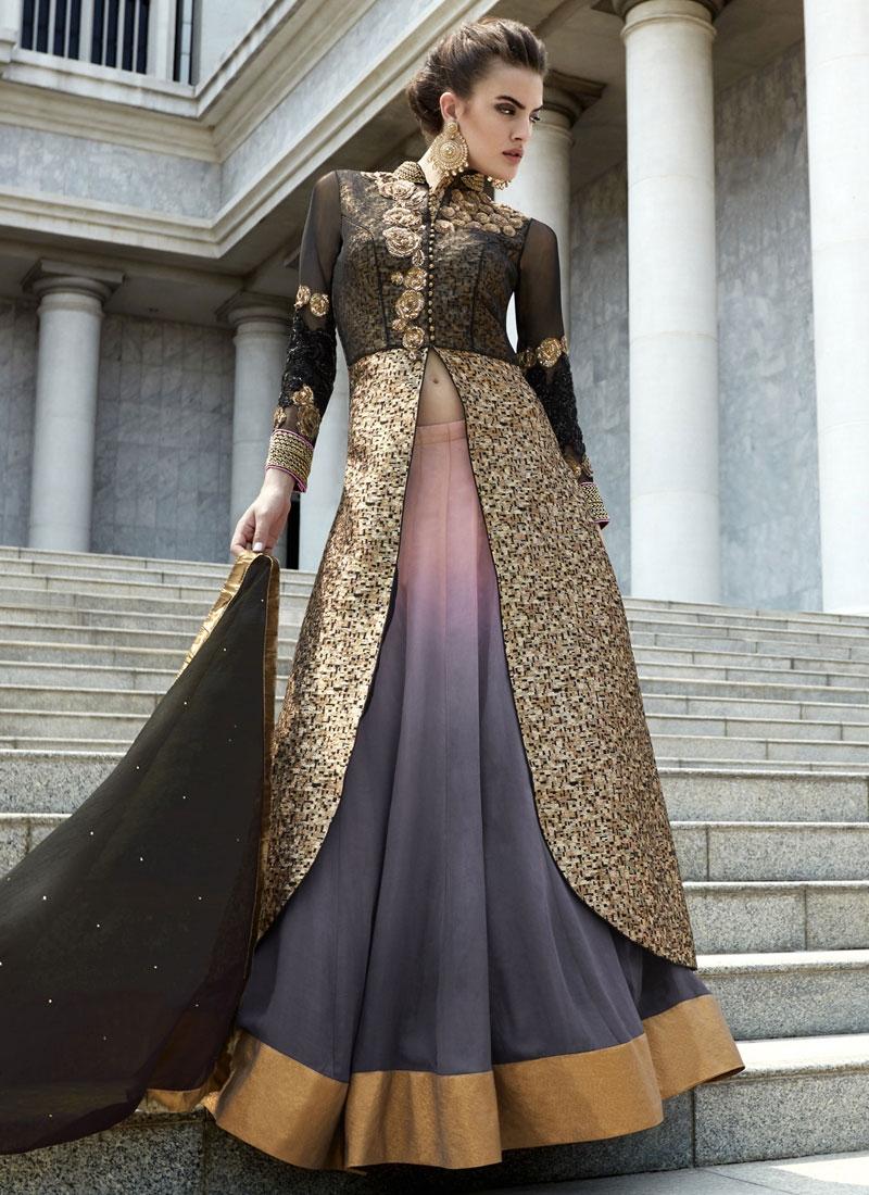 Gratifying Sequins Work Designer Lehenga Choli