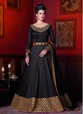 Gripping Floor Length Anarkali Suit