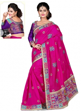 Groovy Chanderi Silk Designer Saree