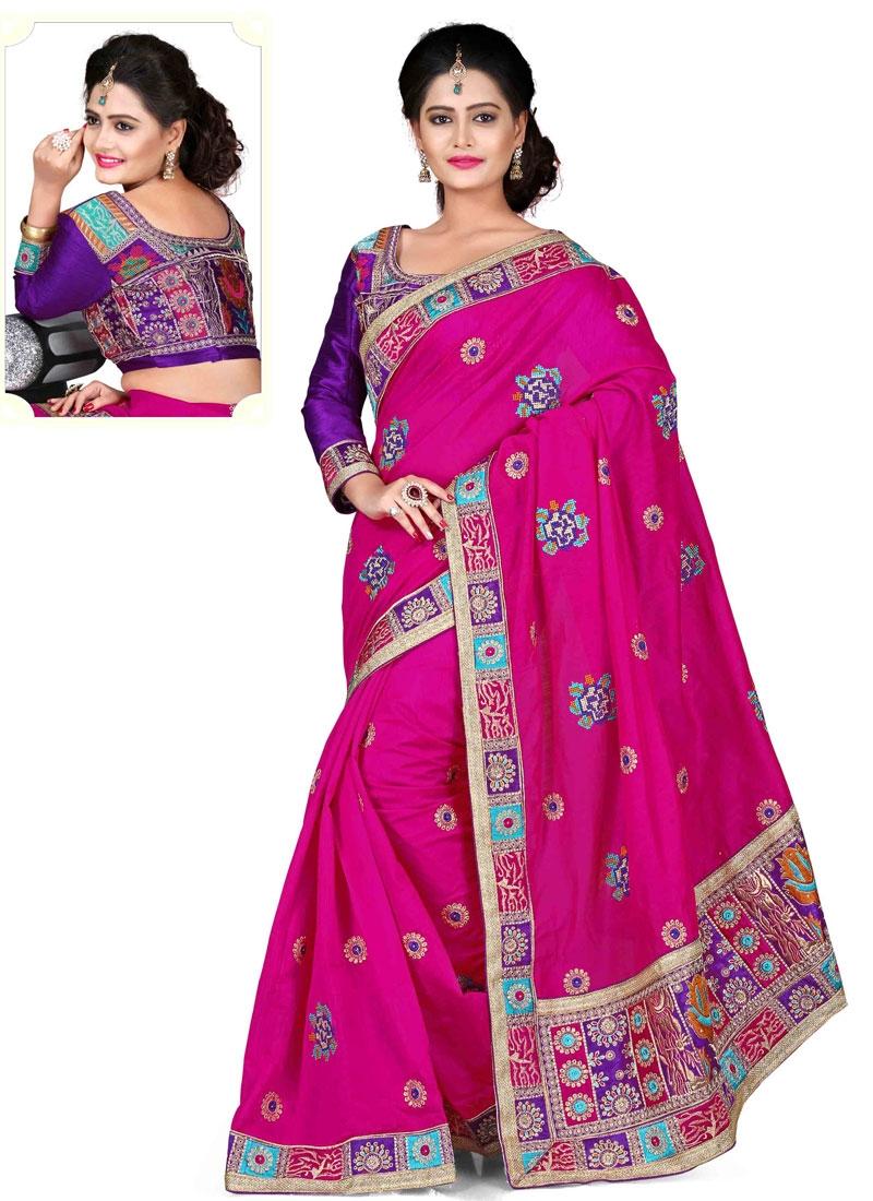 Groovy Chanderi Silk Designer Saree