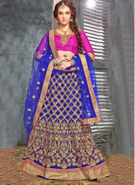 Groovy Embroidery Work Wedding Lehenga Choli