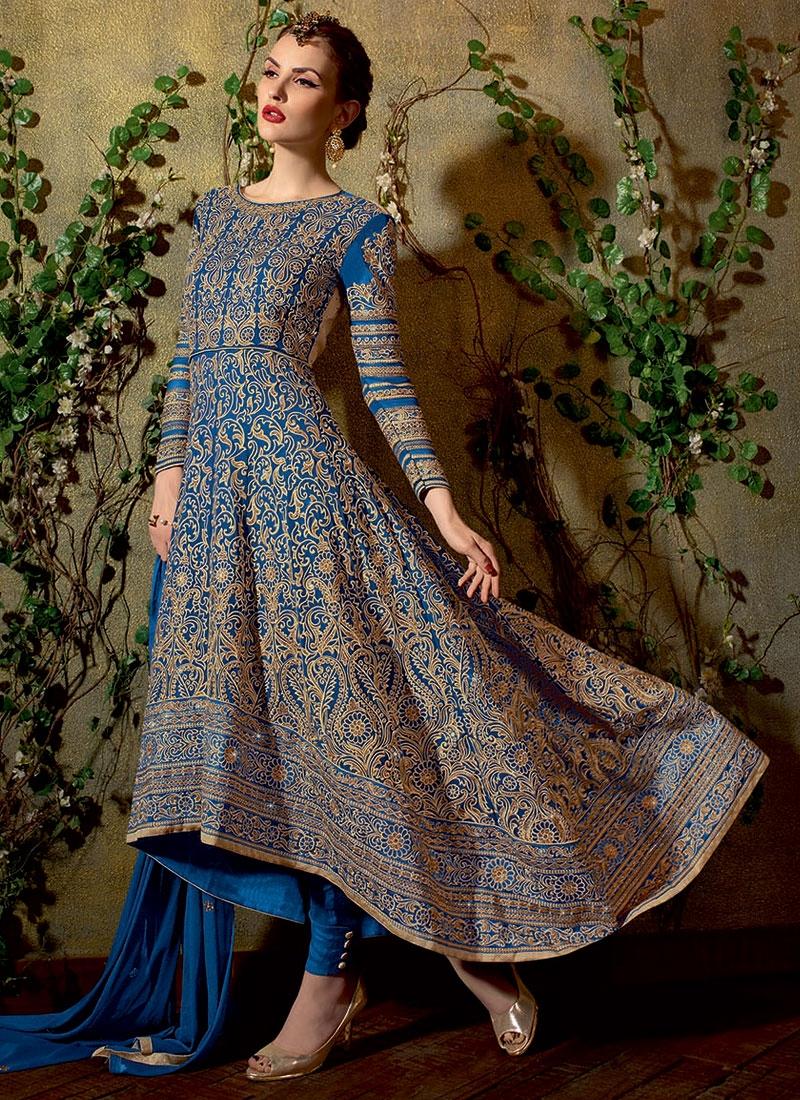 Groovy Pure Georgette Pant Style Designer Salwar Kameez