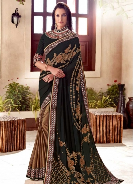 Half N Half Designer Saree For Ceremonial