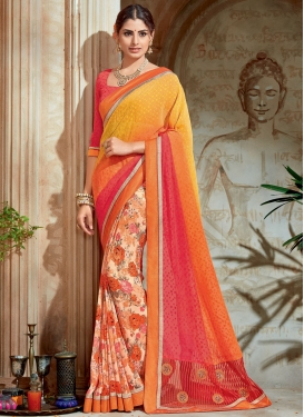 Half N Half Saree For Festival