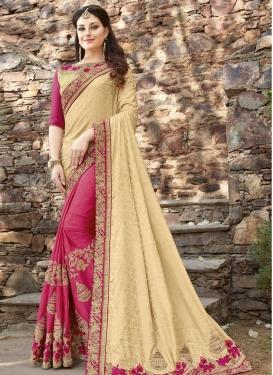 Half N Half Trendy Saree For Bridal