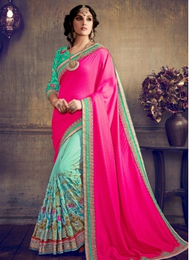 Half N Half Trendy Saree For Party