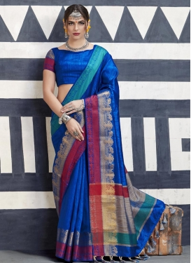 Handloom Silk Classic Saree For Ceremonial