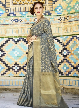 Handloom Silk Classic Saree For Ceremonial
