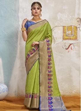 Handloom Silk Contemporary Saree