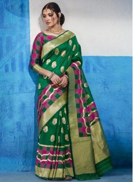 Handloom Silk Contemporary Saree