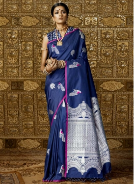 Handloom Silk Contemporary Style Saree