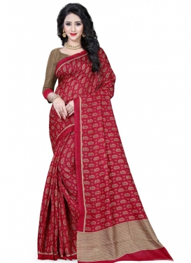 Handloom Silk Trendy Saree