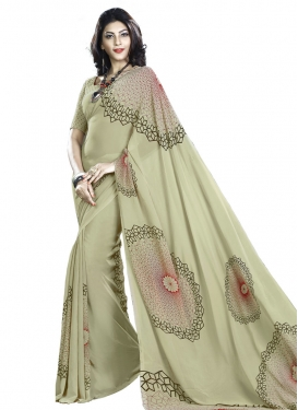 Haute  Faux Georgette Traditional Saree