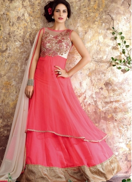 Haute  Layered Designer Salwar Kameez For Festival