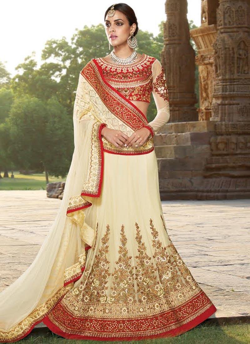 Haute Patch Border Work Wedding Lehenga Choli
