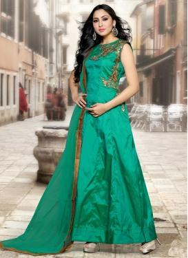 Haute  Resham Work Designer Salwar Kameez