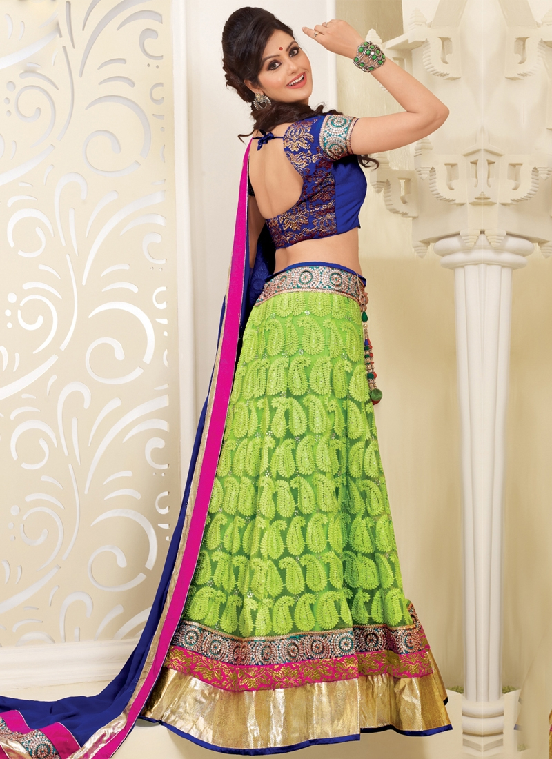 Haute Stone Enhanced Designer Lehenga Choli