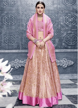 Heavenly A - Line Lehenga For Festival
