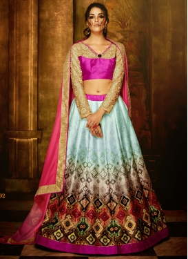 Heavenly Banglori Silk Party Wear Lehenga Choli