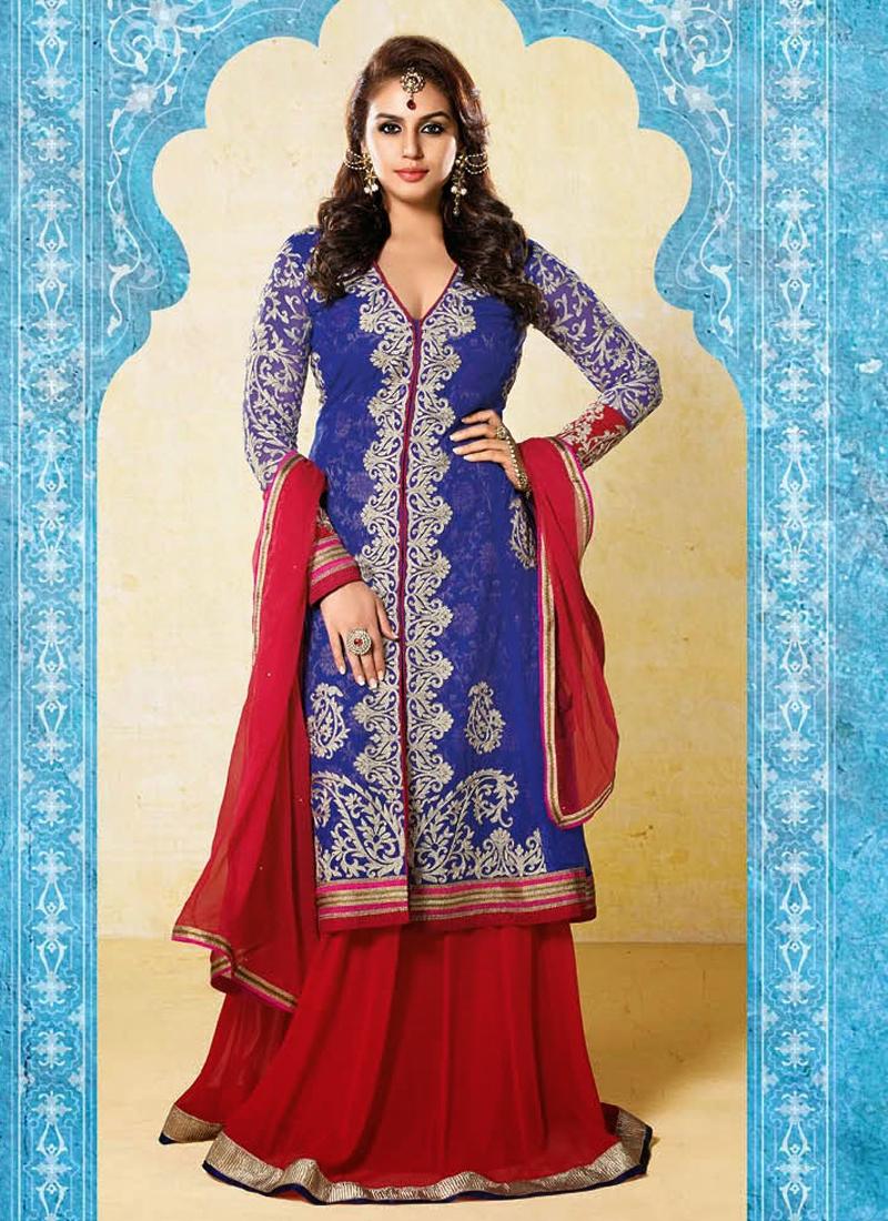 Hema Kureshi Gold Zardosi Work Designer Salwar Suit