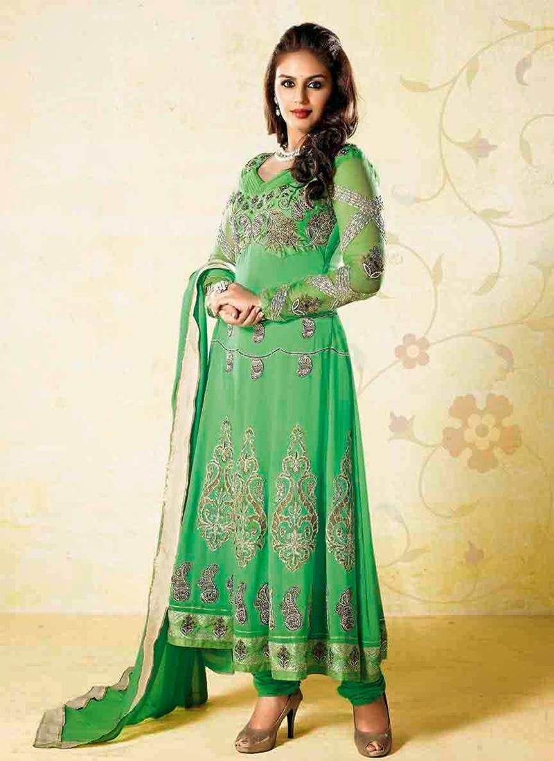Hema Kureshi Resham Work Designer Salwar Suit